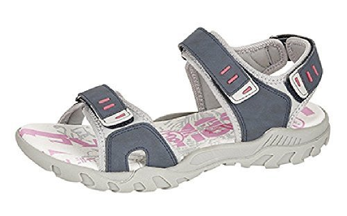 45678 donne Pdq grigio Blu Navy taglie sandali Grigio sport velcro Walking Trail Adventure rosa Twwxrdqv
