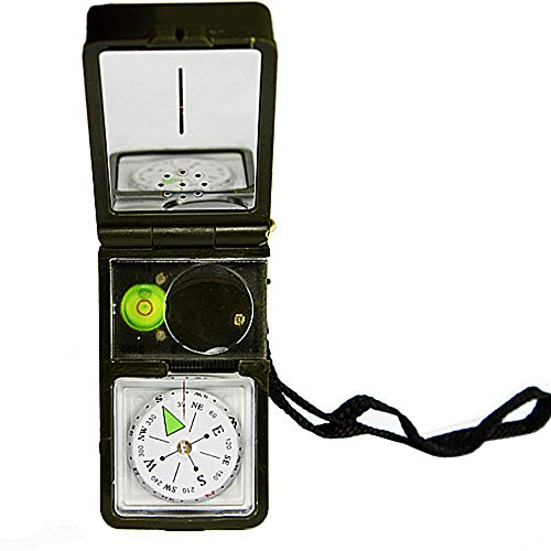 Hehh Tuoba Fish Multifunktionskompass, Outdoor-Campingkletterwerkzeug, Thermometer, Hygrometer