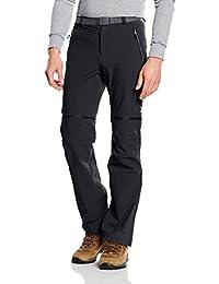 Columbia Men 's Titan Pico Convertible pantalones, hombre, Titan Peak, negro