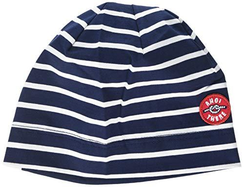 maximo Jungen Mütze Beanie AHOI There Mehrfarbig (Navy 48) 51/53