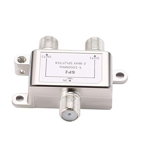 WOSOSYEYO SP22 Way-Kabel-Teiler Satelliten Multischalter CATV Signal Mixer Digital Satellite Combiner Diplexer VHF UHF Digital-kabel-combiner