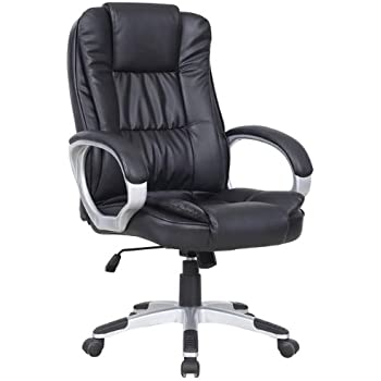luxury leather office chair. this item new luxury swivel executive computer office chair k8319 black leather h