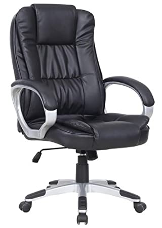 luxury office chairs leather. new luxury swivel executive computer office chair k8319 black chairs leather