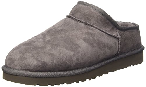 UGG Classic Slipper, Pantofole a Collo Alto Donna, Grey, 39 EU