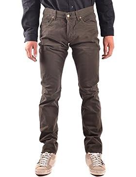 Daniele Alessandrini Hombre MCBI086595O Verde Algodon Jeans