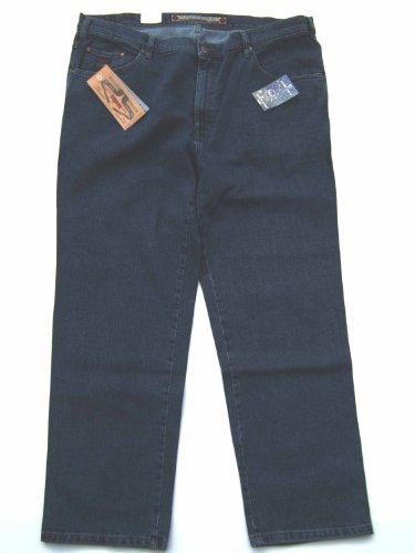 Revils Jeans Hose 302 Classic Stretch, V-24/2, indigo stone washed Blau