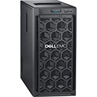 Dell EMC PowerEdge T140 Mini-Tower Server - 1 x Xeon E-2124-8 GB RAM - 1 TB (1 x 1 TB) HDD - 12Gb/s SAS, Serial ATA/600 Controller - 1 Processor Support - 64 GB RAM Support - Gigabit Ethernet - No -
