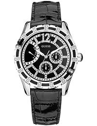 Guess W15054L2 - Reloj analógico de cuarzo para mujer con correa de piel 2115c7ed5b41