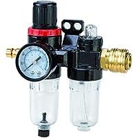Filtro riduttore di pressione con manometro aria compressa compressore