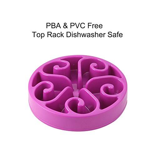 Vivifying-Pet-Dog-Slow-Feed-Bowl-PBA-Free-Fun-Interactive-Slow-Food-Bowl-Anti-Gulp-Bloat-Stop-Purple