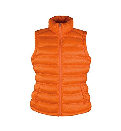 Gilet da Donna di moda Imbottito leggero Ice Bird Padded Gilet Orange