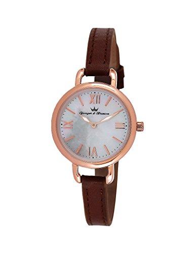 Reloj Yonger & Bresson Mujer Nácar blanca–DCR 051/BU–Idea regalo Noel–en Promo