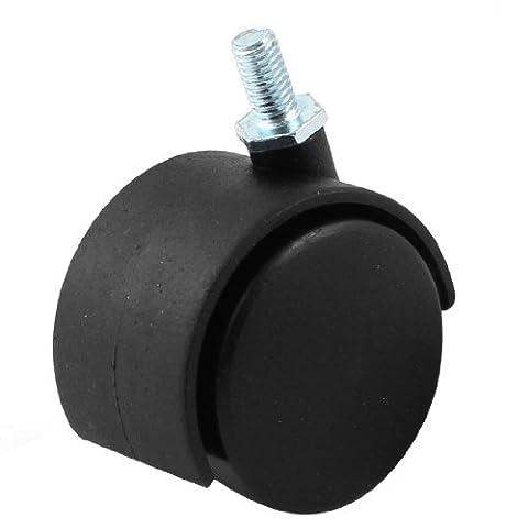 Stuhl 8mm GRIP RING Stem 50mm Dia Dual Rad drehbar Caster