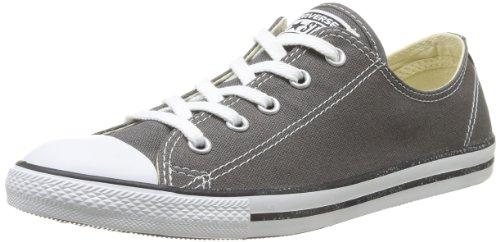Converse Damen All Star Dainty Ox Sneaker, Grau (Anthracite), 40 EU - Low Converse Schuhe