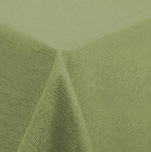 Tischdecke Mitteldecke 110x110 cm eckig Struktur Leinen-Optik beschichtet Wasser und Schmutz...