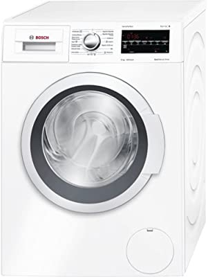 Bosch WAT28468ES Independiente Carga frontal 8kg 1400RPM A+++-30% Color blanco - Lavadora (Independiente, Carga frontal, A+++-30%, B, Color blanco, LED)