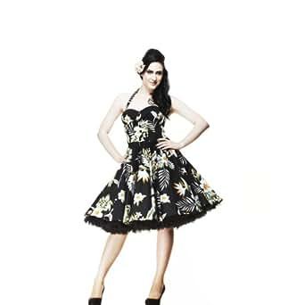 Hell Bunny Kleid KIKI 50'S DRESS black XL