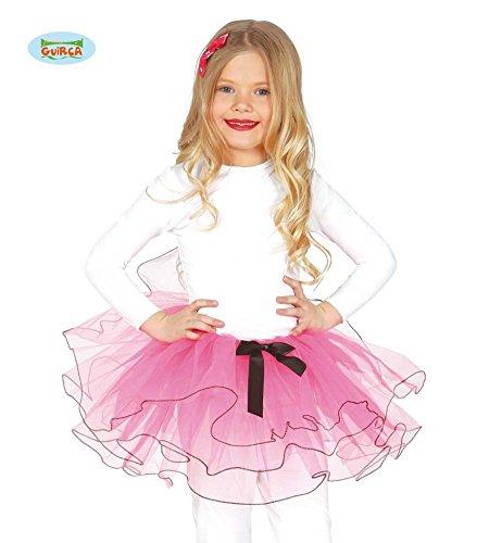555 - pink Tutu, Kinder (Ballett Tänzerin Halloween Kostüm)