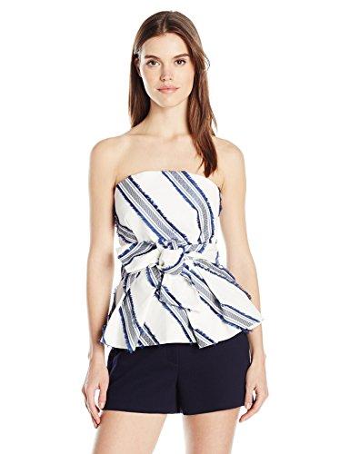 Milly Kylie Damen Top - Blau - 36 (Blusen Für Damen, Made In Usa)