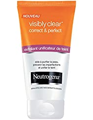 Neutrogena Visibly Clear Correct & Perfect Exfoliant Unificateur Teint 150 ml