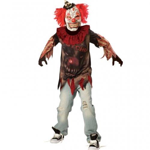 Preisvergleich Produktbild Amscan Jungen Side Show Pscho Verkleidungen Kostüm Alter 12-14 Jahre,  ideal für Halloween!
