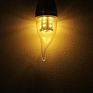 FDH 5W E14 / E26/E27 Luces de velas LED SMD CA35 24 5730 350 lm / blanco cálido, blanco frío 110-130 V CA,E14