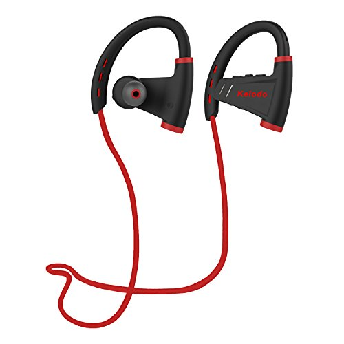 KELODO Bluetooth Kopfhörer Sport Wireless Headset Earbuds V4.1 In Ear Ohrhörer Stereo mit Mikrofon für iPhone 7 7Plus 6 6S 6 Plus 6S Plus 5S 5 5C, Galaxy S6 S6 Edge S5 S4 Mini