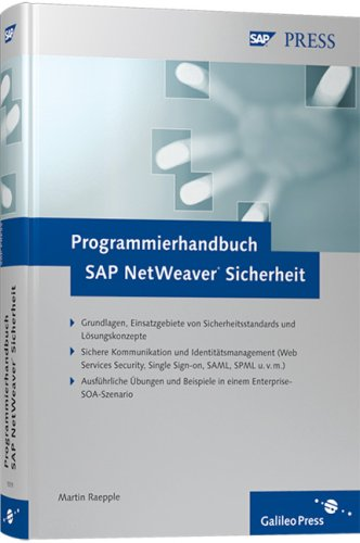 Programmierhandbuch SAP NetWeaver Sicherheit (SAP PRESS)