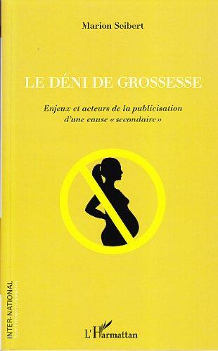Deni de Grossesse Enjeux et Acteurs de la Publicisation d'une Cause Secondaire par Seibert Marion