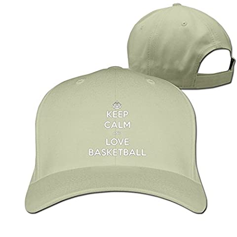 Facsea Runy Custom Keep Calm And Love Basketball Adjustable Hunting