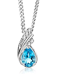 Miore - MG9171N - Collier Femme - Or Blanc 9 Cts 375 1000 3.13 Gr b15fd426749d