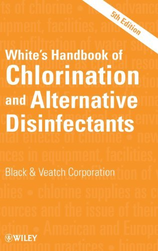 White's Handbook of Chlorination and Alternative Disinfectants: Written by Black & Veatch Corporation, 2010 Edition, (5th Edition) Publisher: Wiley-Blackwell [Hardcover]