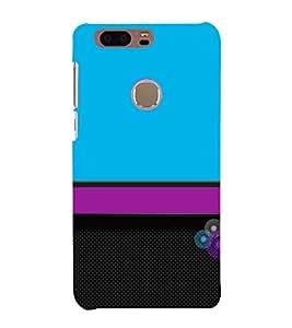 Classic Color Design 3D Hard Polycarbonate Designer Back Case Cover for Huawei Honor 8