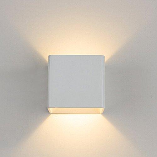 USBONLINE Applique da parete a LED bianco caldo 2700 lampada da ...