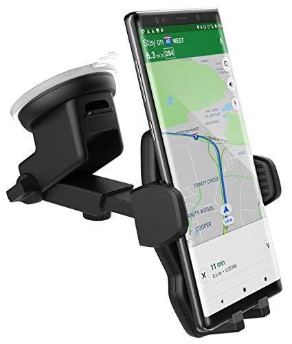 Google Pixel 3 Car Mount Holder - Case Friendly Adjustable Phone Dock (2018) Compatible with Windshield/Dashboard/Vent