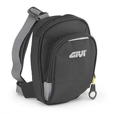 GIVI EA109B Easy Bag Bolsillo Pierna Negro Dos Ranuras
