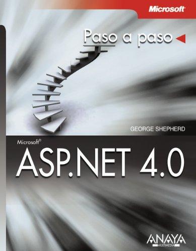 ASP.NET 4.0 (Paso A Paso) por George Shepherd
