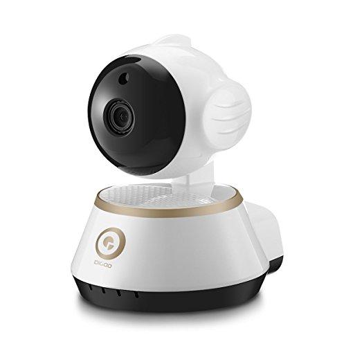 Schwarz Und Weiß-video-kamera (digoo dg-m1X HD 960p IP-Kamera Wireless 3.6mm Nachtsicht System Kameras von Alarm und Video Sicherheit der Haus weiß schwarz)