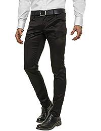Jeans schwarz glanzend herren