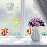 Brussels08finestra per la privacy floreale decorativa ad adesivi Frosted Window film privacy tendine da cucina bagno adesivo vetro non adesivo finestre sfumature decalcomanie, PVC, 8