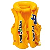 Inflatable Swim Vest Jacket for Kids Children Young Swimmers Deluxe Pool Float