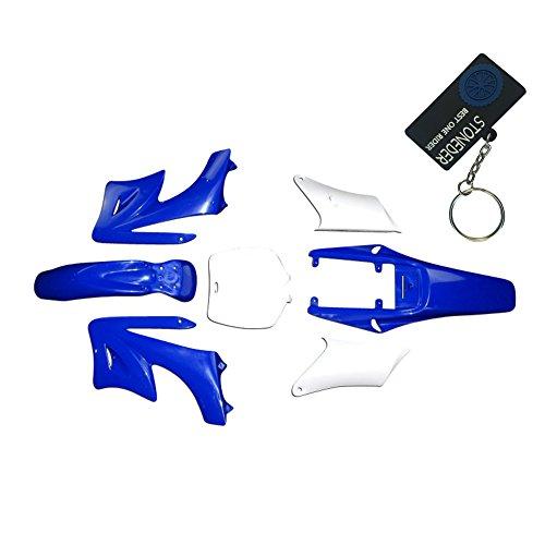 stoneder blau 7-teilig hohe Festigkeit Kunststoff Fender Verkleidung Body Kits für chinesische 47cc 49cc 2Takt Apollo Orion Dirt Mini Bike