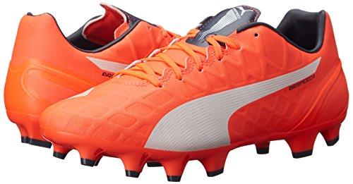Puma Evospeed de Chaussures de soccer Lava Blast/White/Total Eclipse