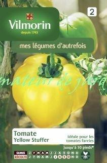 VILMORIN Tomate Yellow Stuffer Sachet de graines