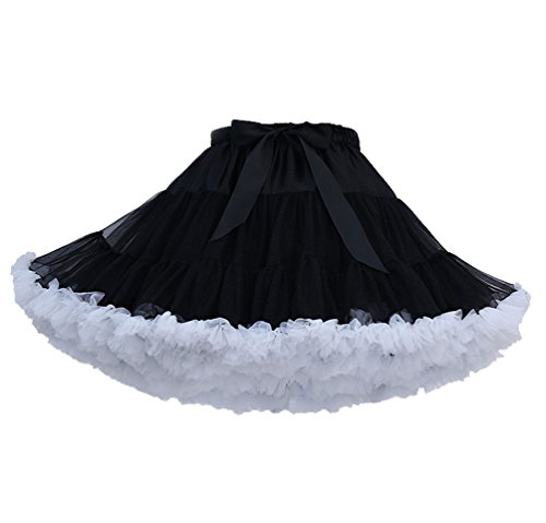 Tütü Damen Tüllrock Mädchen Tutu Rock Petticoat