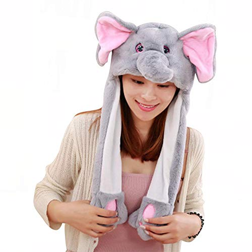 Politice Es Un Sombrero Lindo Y Divertido. La Oreja del Koala De Elefante Moverá El Sombrero. También Puede Emitir Flash Y Música. A Las Niñas Y Los Niños Les Gustará.