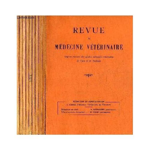 REVUE DE MEDECINE VETERINAIRE - 10 NUMEROS 10 VOLUMES - JANVIER + FEVRIER + MARS + AVRIL + MAI + JUIN + JUILLET + AOUT-SEPTEMBRE + OCTOBRE + NOVEMBRE 1960.