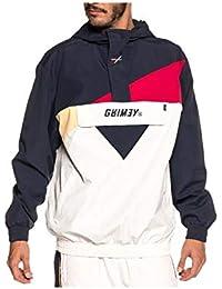 Grimey Chubasquero Hazy Sun FW18 White