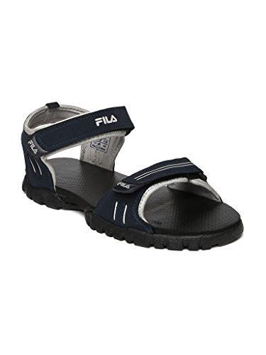 FILA MEN BLACK RED SPORTS SANDAL CLIMB (8)  available at amazon for Rs.990