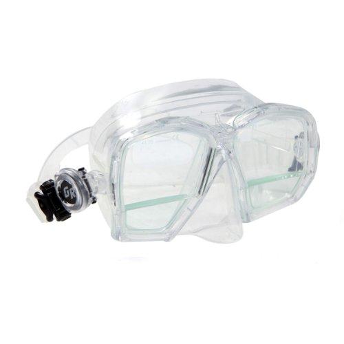 XS Scuba MA290Bifokal Gauge Reader Maske mit Lupe Objektiv, farblos